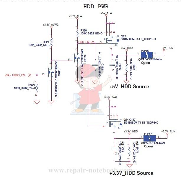 HDD Pwr Dell